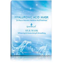 Pleťová maska s kyselinou hyaluronovou